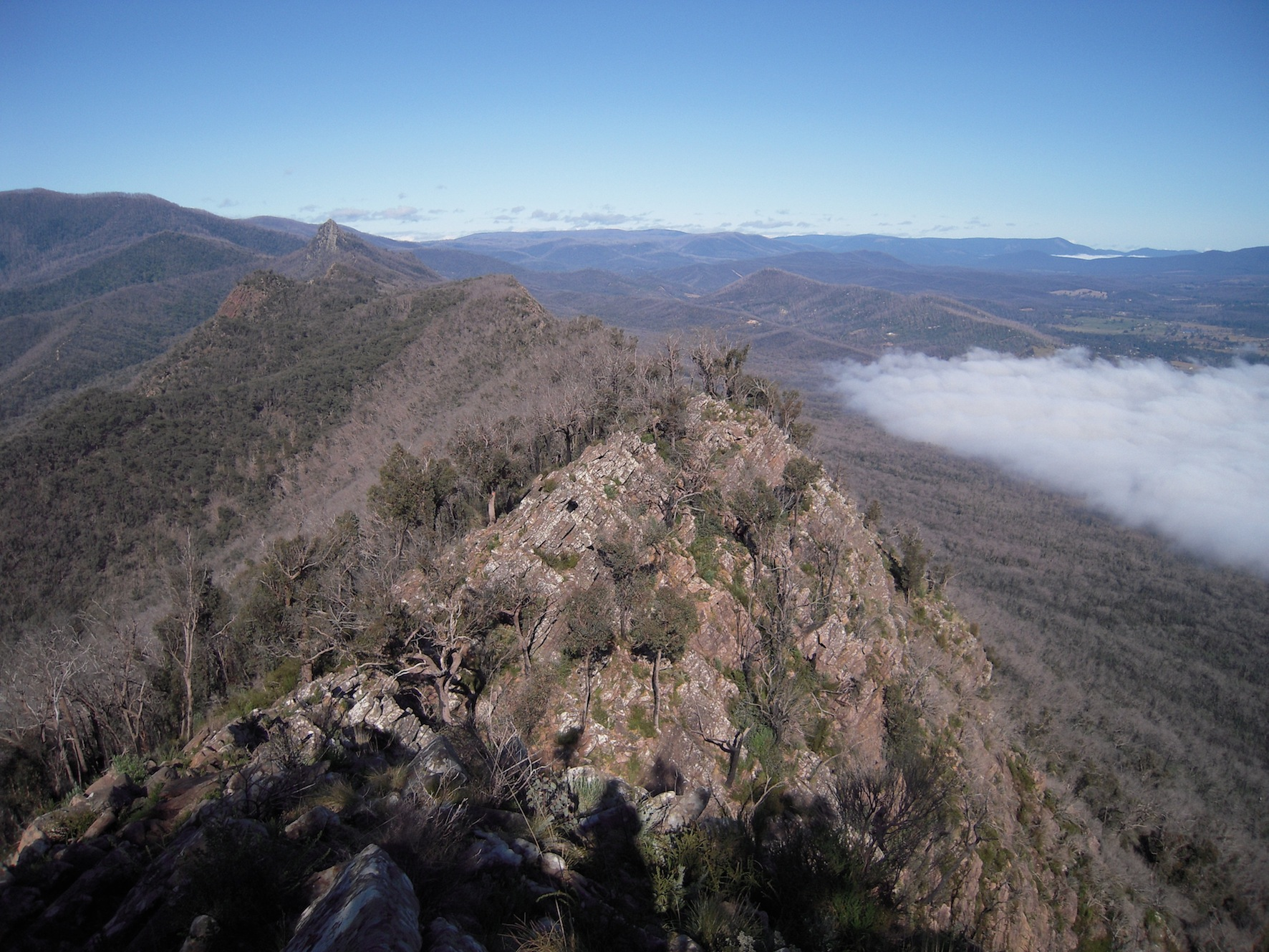 Cathedral ranges - from the ridgeline